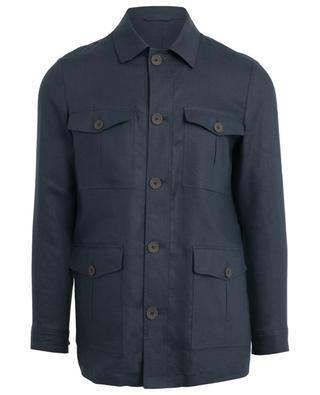 Jacke aus Leinen BORRELLI