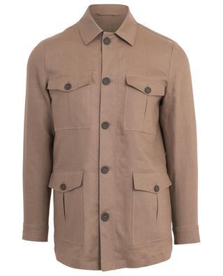 Linen jacket BORRELLI