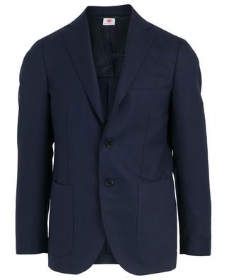 Textured wool blazer BORRELLI