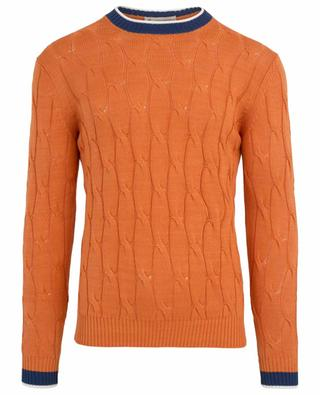 Cable knit jumper BORRELLI