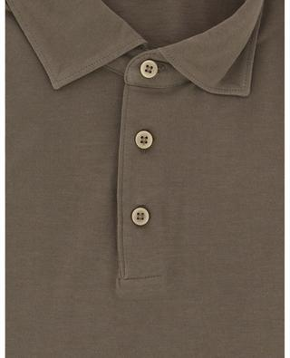 Kurzärmliges Poloshirt aus Baumwolle BORRELLI