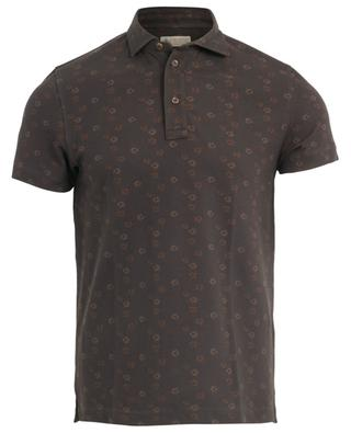 Floral print cotton polo shirt BORRELLI