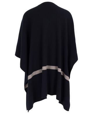 Tenue striped rib knit poncho MAXMARA STUDIO