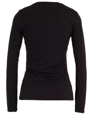 Nietenbesetztes Langarm-T-Shirt Angio MAXMARA STUDIO