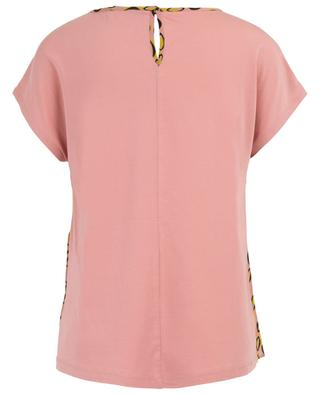 Altrosa short-sleeved gathered printed silk top WEEKEND MAXMARA