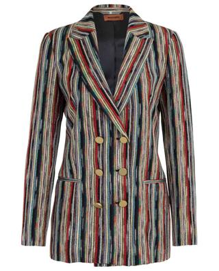 Multi-coloured knit blazer MISSONI