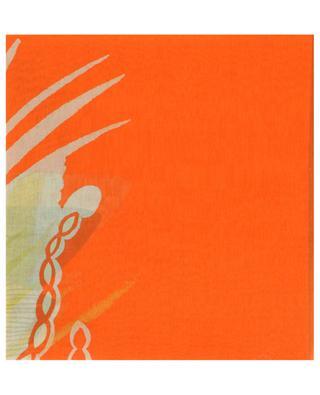 Halstuch aus Baumwolle und Seide mit Print Alsazia WEEKEND MAXMARA