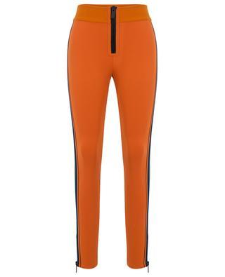 Nylon leggings adorned with knit side stripes M MISSONI