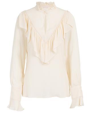 Ruffled silk blend blouse SEE BY CHLOE