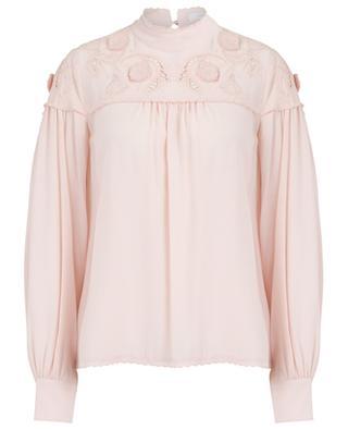 Bluse aus Viskose mit Stickereien SEE BY CHLOE