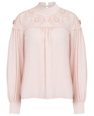 Blouse en viscose avec broderies SEE BY CHLOE