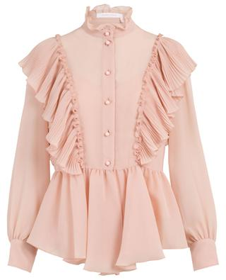 Crepe shirt with Victorian collar SEE BY CHLOE