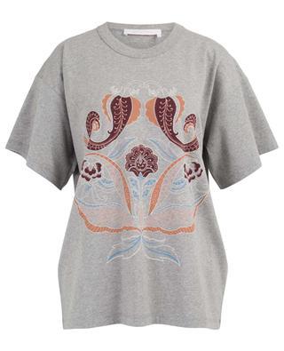 T-shirt en coton motifs Paisley SEE BY CHLOE