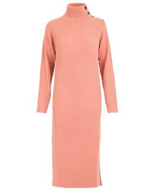 Rib knit dress with stand-up coller SEE BY CHLOE