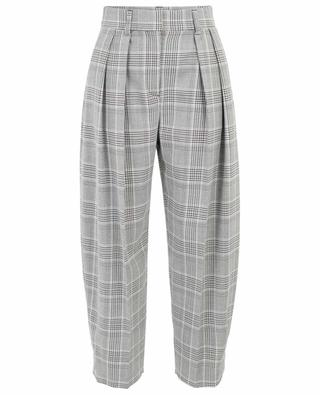 eee1baa2e96 Check pattern carrot trousers SEE BY CHLOE ...