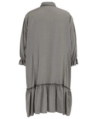 Kurzes Kleid mit Vichykaros und Ascotkrawatte SEE BY CHLOE