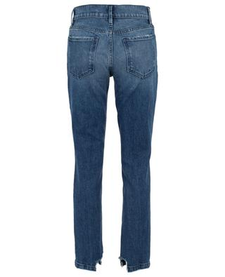Le Sylvie Slender Straight Eagle Rock distressed jeans FRAME
