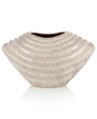 Large textured ceramic vase KERSTEN