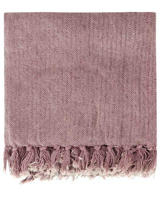 Fringed woven throw KERSTEN