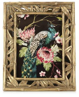 Large golden bamboo design picture frame KERSTEN