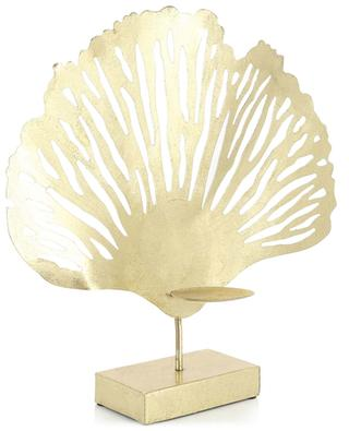 Gingko golden candle holder KERSTEN