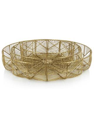 Set of three metal baskets KERSTEN