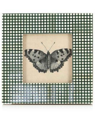 Cadre carré à carreaux papillon KERSTEN