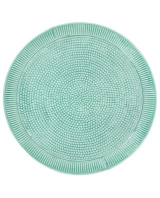 Polka dots and stripe large tray KERSTEN