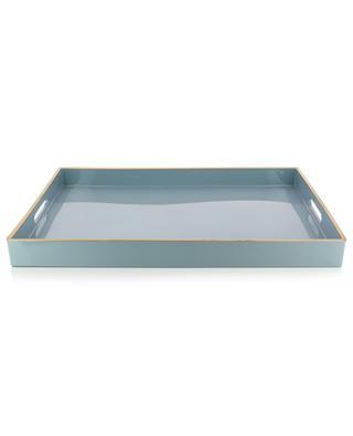 Large gold rimmed serving tray KERSTEN