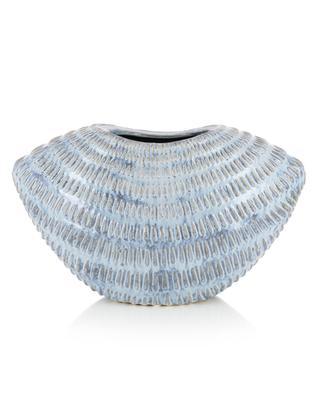 Weite emaillierte Keramikvase KERSTEN