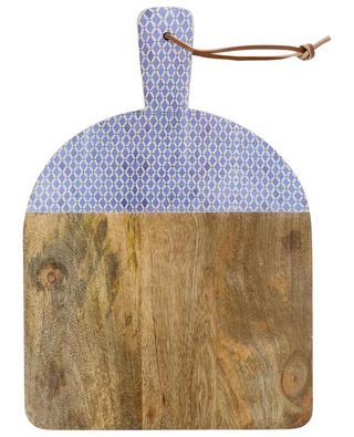 Tiles lacquered wooden bread board KERSTEN