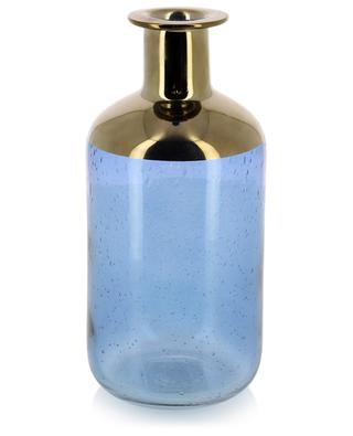 Vase en verre détail doré KERSTEN