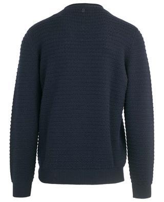 Textured knit jumper DONDUP