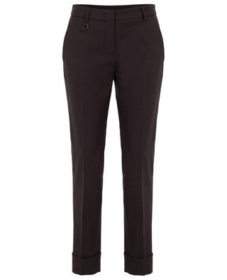 Virgin wool blend tapered trousers LORENA ANTONIAZZI