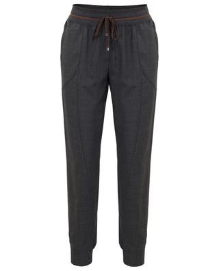 Jog spirit flowy tapered leg trousers LORENA ANTONIAZZI