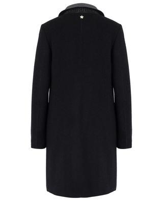 Manteau léger en laine vierge, cachemire et soie LORENA ANTONIAZZI