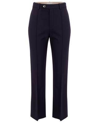 Straight-fit wool stretch trousers CHLOE