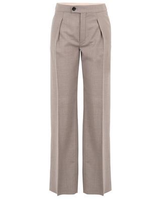 Pantalon à pinces en laine vierge CHLOE