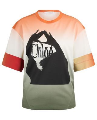 T-shirt dégradé imprimé logo Femininities CHLOE