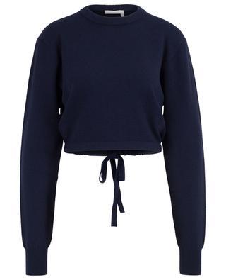 Verkürzter Pullover aus Kaschmirmix CHLOE