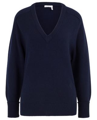 Pullover aus Kaschmir mit V-Ausschnitt CHLOE