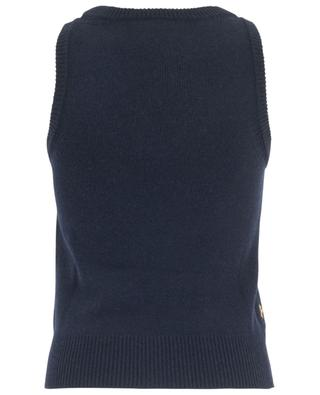 Horses sleeveless jumper CHLOE