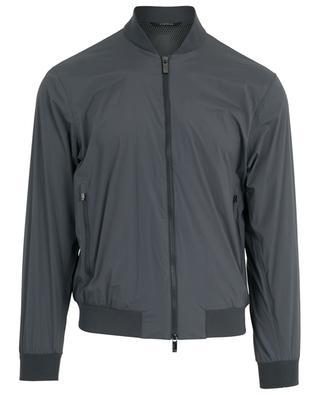 Technical fabric windbreaker jacket Z ZEGNA