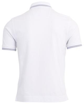 Piquéd cotton polo shirt Z ZEGNA