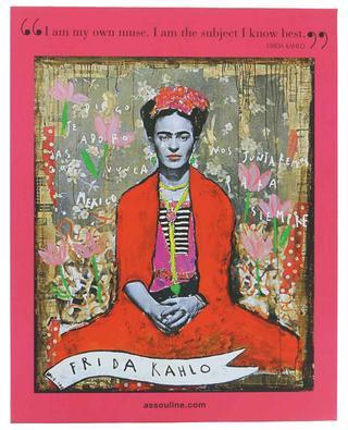 Kunstbuch Frida Kahlo Fashion As The Art Of Being ASSOULINE