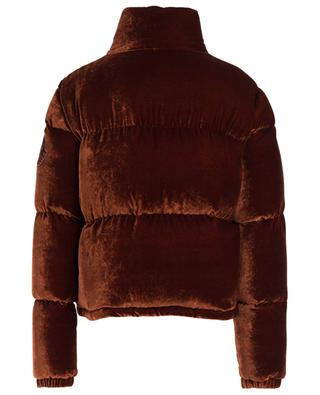 Rimac short velvet down jacket MONCLER