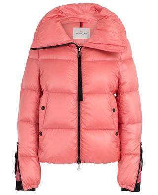Bandama down jacket with stand-up collar and zip details MONCLER