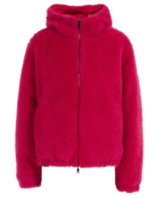 Kolima reversible down jacket with teddy lining MONCLER