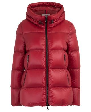 Seritte A-line down jacket with hood MONCLER