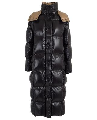 Parnaiba lacquered nylon down coat MONCLER
